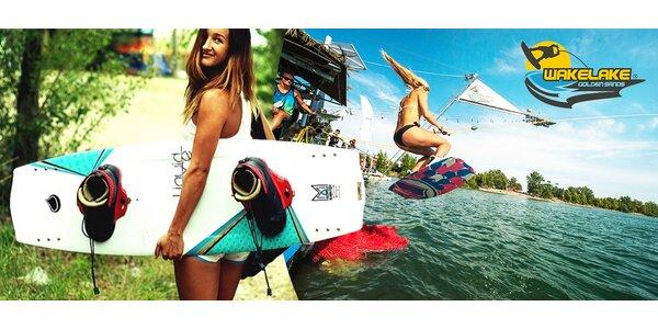 Celodenný wakeboarding na Zlatých Pieskoch