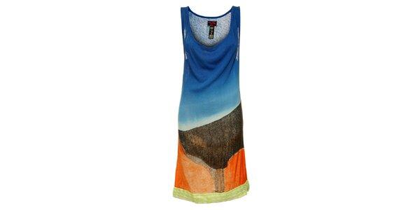 Dámske farebné šaty Custo Barcelona