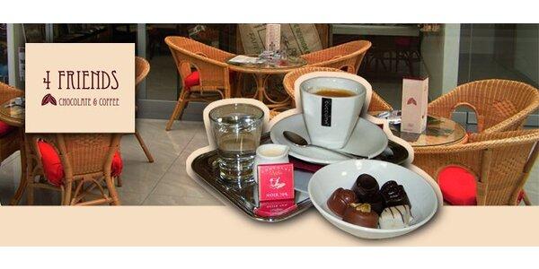 1,90 za šálku kávy a 50 gramov čokoládových praliniek!