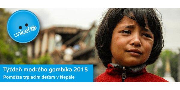 Týždeň modrého gombíka - Nepál