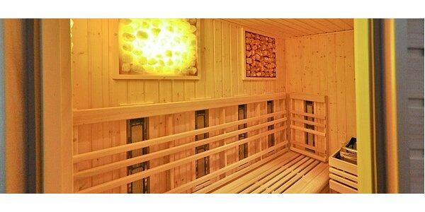 Vstup do sauny pre 2 osoby