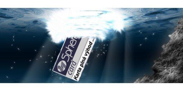 Sphere Card - zľavy do viac ako 10 000 obchodov a e-shopov