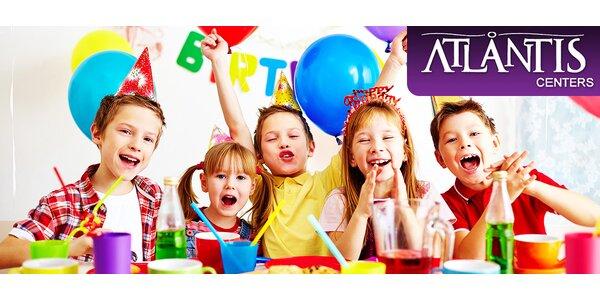 Detská párty v Atlantis Science Center