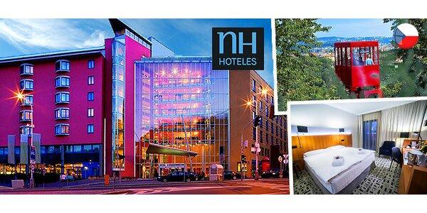 Relax v luxusnom hoteli NH Prague****