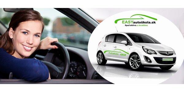 Kondičné jazdy v Easy autoškole Žilina