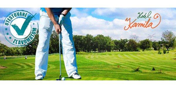 Skupinový golf s trénerom iba 20 min. od centra