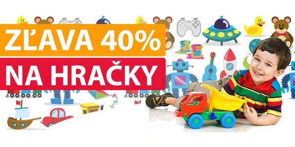 Výpredaj hračiek so 40 % zľavou