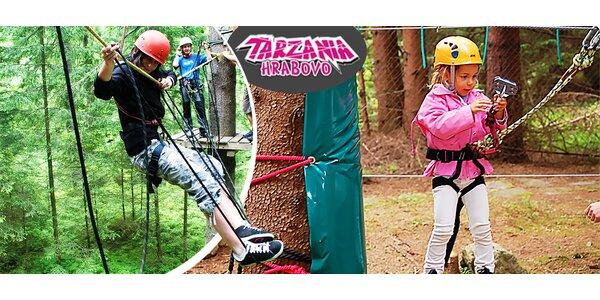 Zábava pre malých aj veľkých v Tarzánii Hrabovo