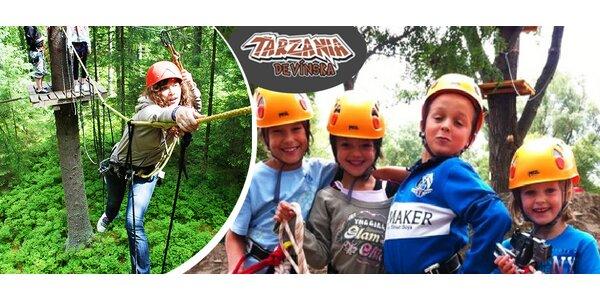 Zábava pre malých aj veľkých v Tarzánii Devínska