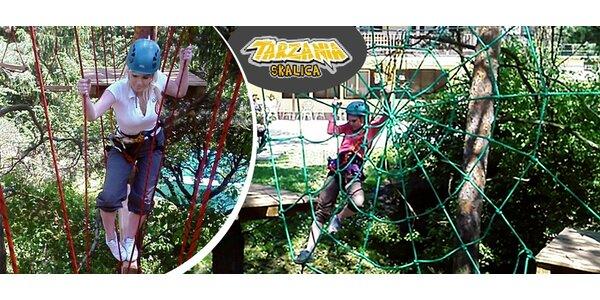 Zábava pre malých aj veľkých v Tarzánii Skalica
