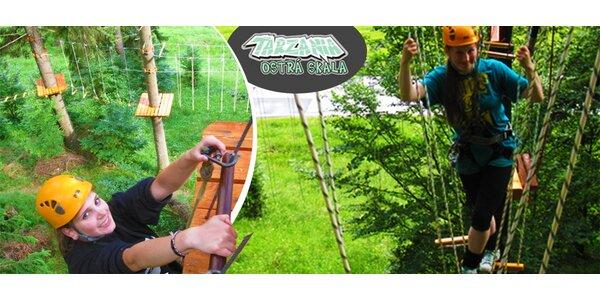 Zábava pre malých aj veľkých v Tarzánii Ostrá Skala