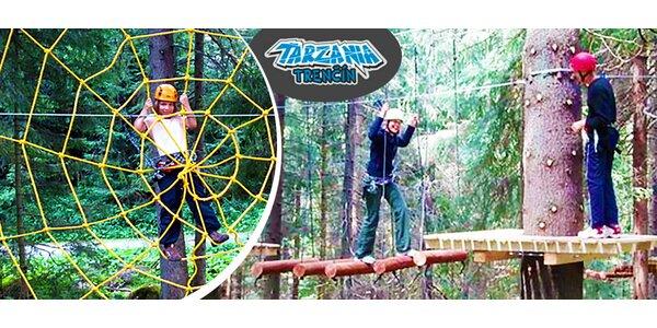 Zábava pre malých aj veľkých v Tarzánii Trenčín