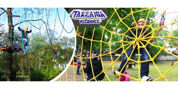 Zábava pre malých aj veľkých v Tarzánii Vlčkovce