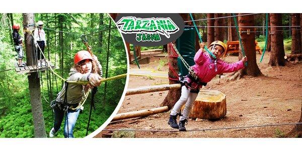 Zábava pre malých aj veľkých v Tarzánii Jasná