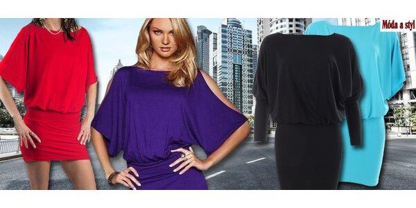 Atraktívne dámske šaty - 7 farieb