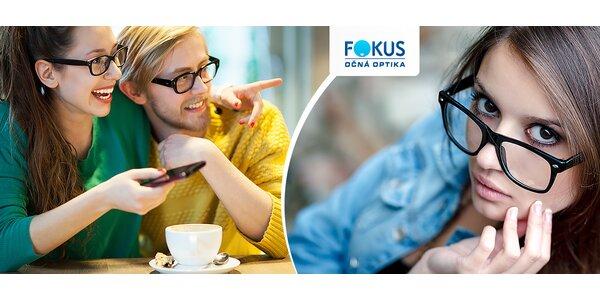 Zmeranie zraku + zľava na ponuku optiky Fokus