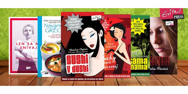Letné balíčky kníh od EvitaPress