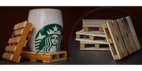 Jedinečné handmade podložky pod pohár