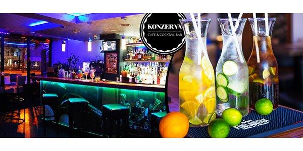 Litrové ALKO drinky, KONZERVA Cafe & Bar