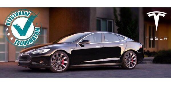 1-2 hod. na dychvyrážajúcom elektromobille Tesla!