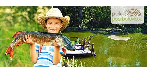 6-dňový rybársky tábor pre deti od 7 do 15 rokov