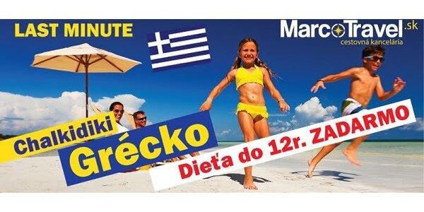 10-dňová dovolenka v Grécku