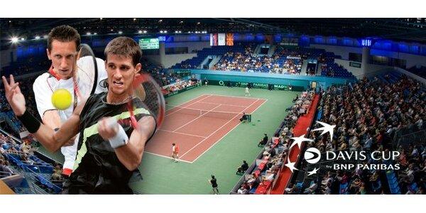 5 eur za celodenný lístok (piatok 16.9.) na zápasy Davis Cup so zľavou 50%!