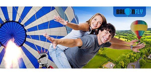 Adrenalínové nebo! Zážitkový let balónom