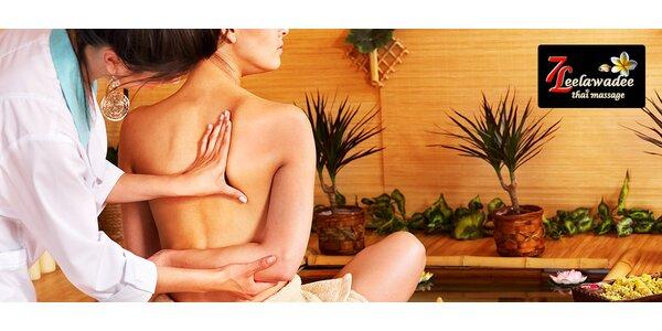 Dokonalé uvoľnenie pri pravej thajskej masáži