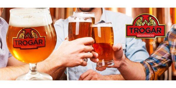 Pivo, tatarák a pivné pochutiny v Pivovare Trogár