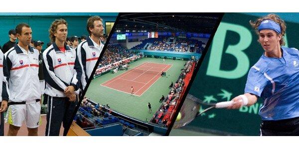 2,50 eur za celodenný lístok (sobota 17.9.) na Davis Cup so zľavou 50%!
