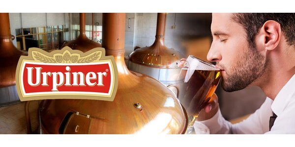 VIP prehliadka pivovaru Urpiner spojená s degustáciou
