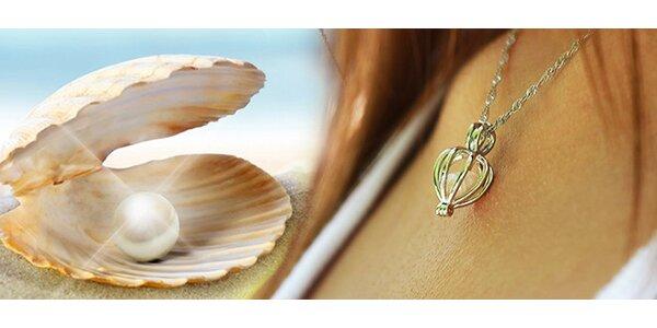 Náhrdelník s pravou perlou
