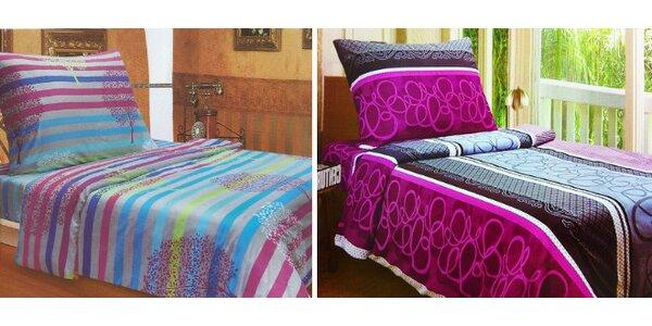 Moderná posteľná bielizeň