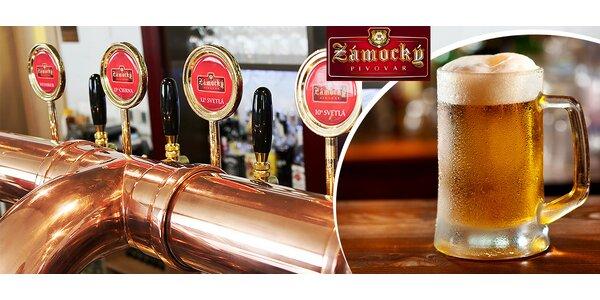 Pivný sviatok: 3x veľké pivo v Zámockom Pivovare