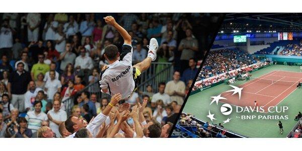 5 eur za celodenný lístok (nedeľa 18.9.) na zápasy Davis Cup so zľavou 50%!