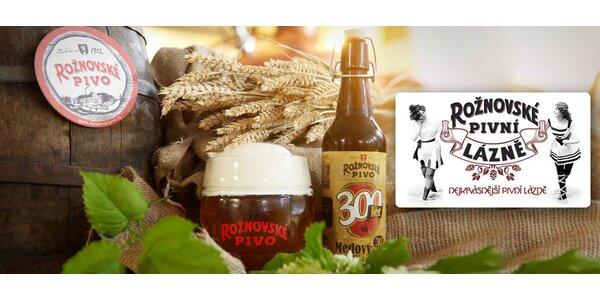 Božské pivné zážitky v Rožnovskom pivovare