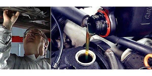 Výmena oleja s možnosťou získať zľavu na nákup nového oleja