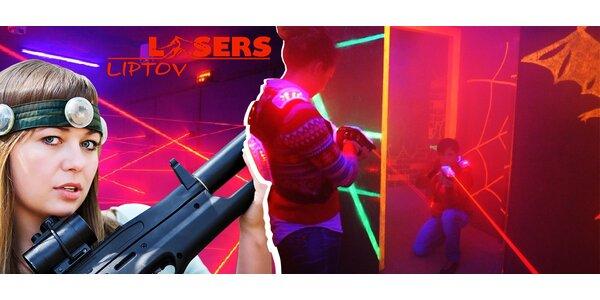 Laser game na 12 minút v Laser aréne