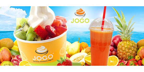 Mrazený jogurt JOGO alebo FRESH plný vitamínov