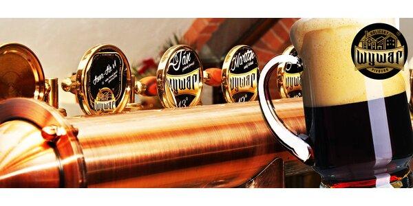 Prehliadka pivovaru Wywar spojená s ochutnávkou