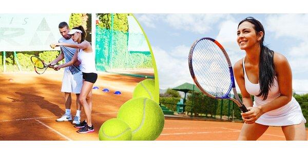 1 alebo 10 hodín individuálneho tenisu s trénerom