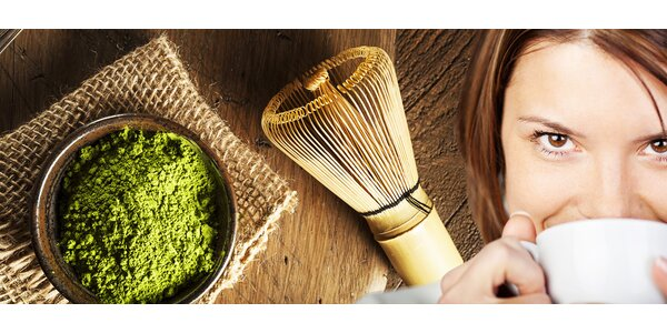 Certifikovaný BIO produkt Matcha Green či Vanilla