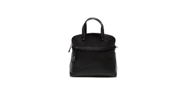 Dámska čierna kabelka s lemom Renata Corsi