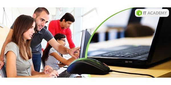 Denné, večerné či víkendové intenzívne PC kurzy