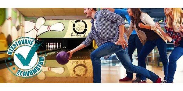 Bowling na 1 hodinu pre partiu