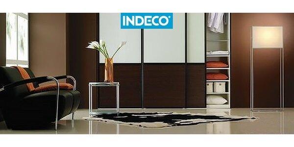 200 € na vstavanú skriňu INDECO