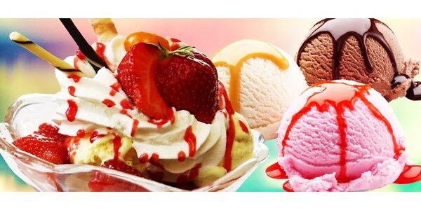Pravá balkánska zmrzlina v cukrárni Paradiso Kafe
