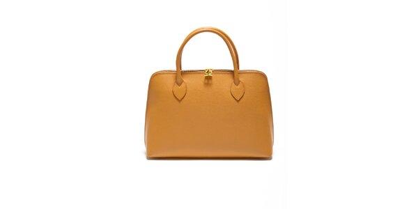 Dámska koňaková kabelka z kvalitnej kože Renata Corsi