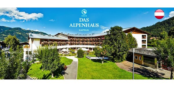 Rodinný pobyt na 3 dni s polpenziou v Alpách
